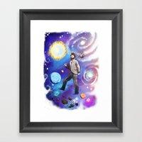 Wherever I May Roam (Spa… Framed Art Print
