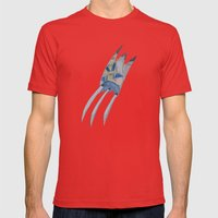 Wolverine  Mens Fitted Tee Red SMALL