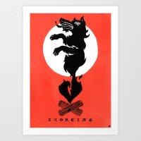 Black Dog: Exorcise Art Print