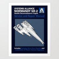 Normandy SR-2 Systems Al… Art Print