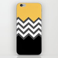Color Blocked Chevron 6 iPhone & iPod Skin