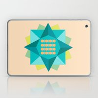 Abstract Lotus Flower - Yoga Print Laptop & iPad Skin
