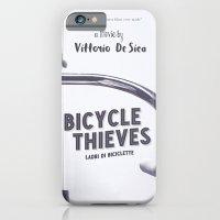 Bicycle Thieves - Movie Poster for De Sica's masterpiece. Neorealism film, fine art print. iPhone 6 Slim Case