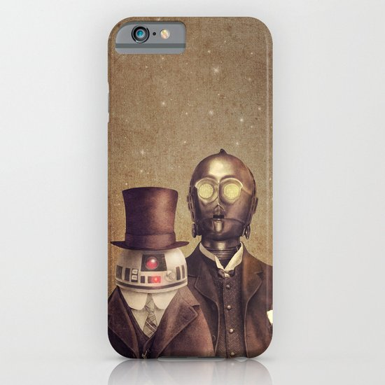 Victorian Robots  iPhone & iPod Case