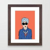 Turban Framed Art Print
