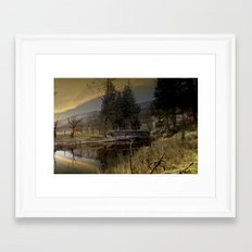 West End Bridge Framed Art Print