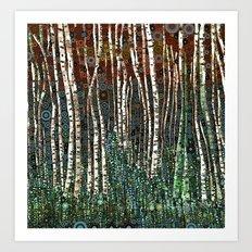 :: Wild in the Woods :: Art Print