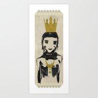 Queen Coco Art Print