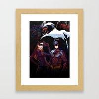 The Darkest Night Framed Art Print