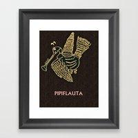 PIPIFLAUTA Framed Art Print