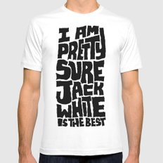 Jack White Mens Fitted Tee White SMALL