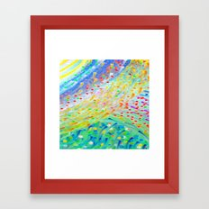 Sparkle Abstract Framed Art Print