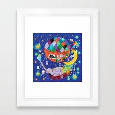 the star cleaners Framed Art Print