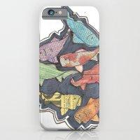 Newspaper Fish iPhone 6 Slim Case