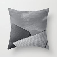 Denver Museum Of Art Throw Pillow