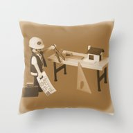 Custom Piece 81 Throw Pillow