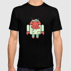 Why not Droidberg Mens Fitted Tee Black SMALL