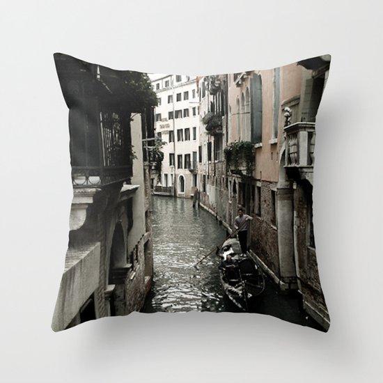 Venezia Love Throw Pillow