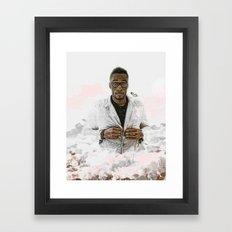WALKING ON CLOUDS Framed Art Print