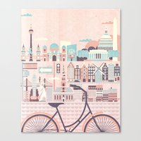 Best Cities To Tour By B… Canvas Print