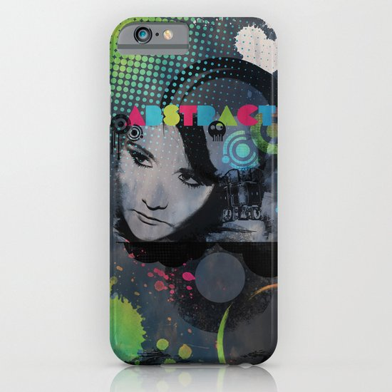 Abstract Vision iPhone & iPod Case