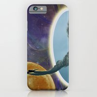 iPhone Cases featuring Into Another Dimension by Roger Wedegis