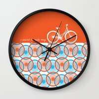 I Want To Ride My Bicycl… Wall Clock