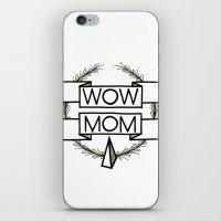 WOW MOM iPhone & iPod Skin