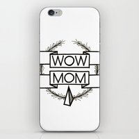 WOW MOM iPhone & iPod Skin