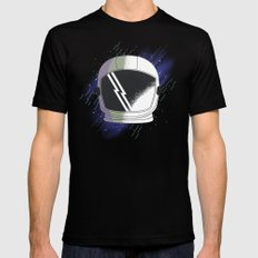 COSMOS Mens Fitted Tee Black SMALL