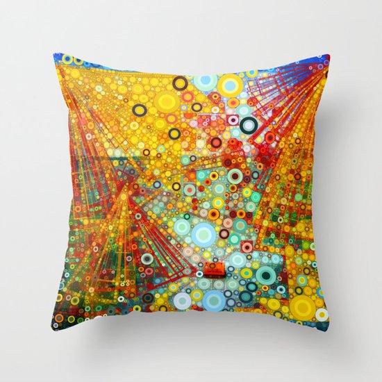 Jade Throw Pillows : Rapture Throw Pillow by Olivia Joy StClaire Society6