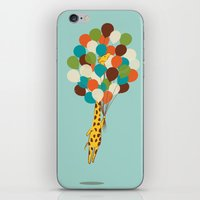 Floating Away iPhone & iPod Skin