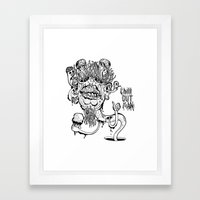 Chill Out Man Framed Art Print