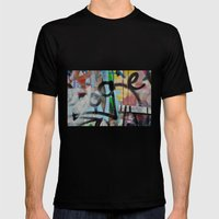 Layers Mens Fitted Tee Black SMALL