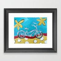 Let's Go For A Ride! Framed Art Print