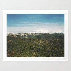 California Landscape Art Print