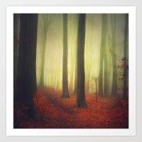 Magic Woodland Art Print