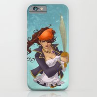 iPhone & iPod Case featuring Pirate by Cola82