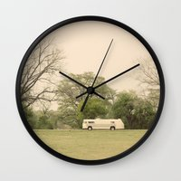 lost in the trees::austin Wall Clock