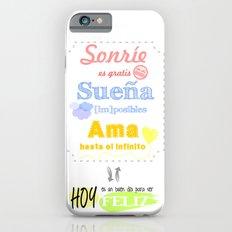 {ESP} SONRÍE · SUEÑA · AMA Slim Case iPhone 6s