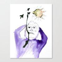 Bird Poop Canvas Print