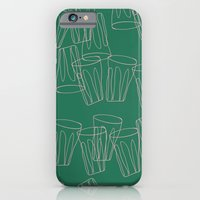 iPhone & iPod Case featuring Tumbling Tumblers by Hannah Stevens