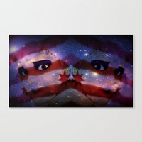 Canvas Print featuring Beautiful Nightmare by kid Icarus