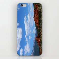 Garden Of Gods View With Kissing Camels iPhone & iPod Skin
