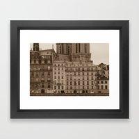 Facades Framed Art Print