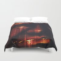 Red I Duvet Cover