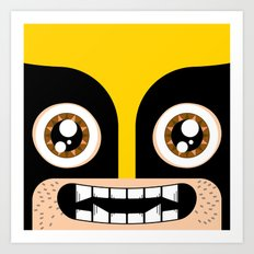 Adorable Wolverine Art Print