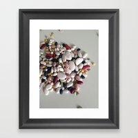 Beans.  Framed Art Print