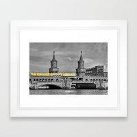 Berlin Oberbaumbruecke Framed Art Print