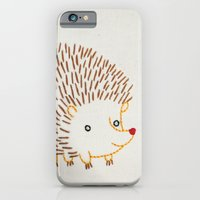 iPhone & iPod Case featuring H Hedgehog by Penguin & Fish